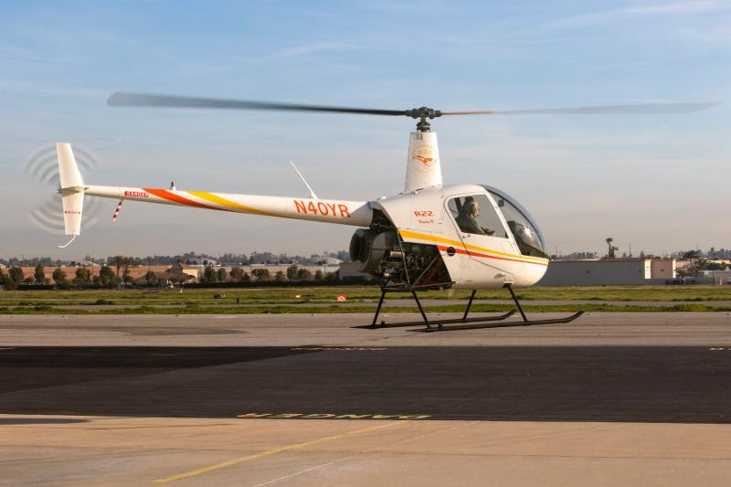 Robinson R22 Celebrates 40 Years