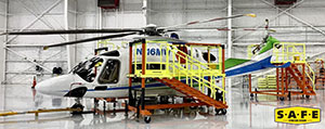 SAFE Delivers Maintenance Stands to Next Era for Leonardo Helicopters' First AW169 in the U.S.