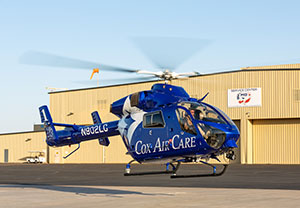 MDHI Factory Service Center Completes ComprehensiveOverhaul of CoxHealth MD 902