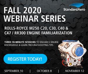 StandardAero Announces New Webinar Series for Fall