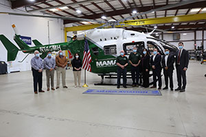 Mountain Area Medical Airlift Adds EC145e to Fleet