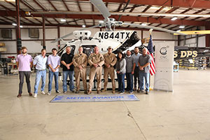 Metro Aviation Delivers H125 toTexas DPS and Becomes Maintenance Provider for the Fleet