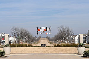 Hillwood and Bell Demonstrate Point-to-Point Autonomous Package Delivery at Mobility Innovation Zone