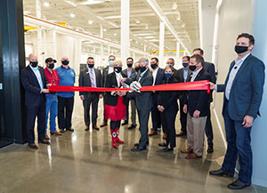 Bell Holds Ribbon-Cutting Ceremony for Manufacturing Technology Center