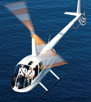 Ultra-lightweight True Blue Power Battery Gives Robinson R44 More Useful Load