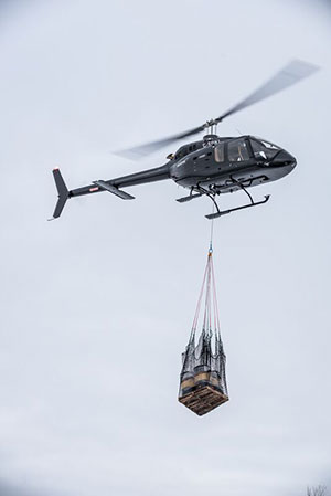 Bell 505 Cargo Hook Receives EASA Certification