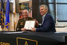 Bell Joins Army Partnership for Youth Success Program