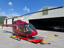 Helitow Cart Introduces Ideal Ground-handling Solution for Bell 505